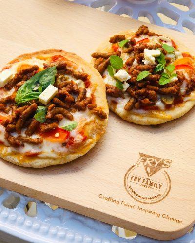Meat free Monday – Mini Pizzas