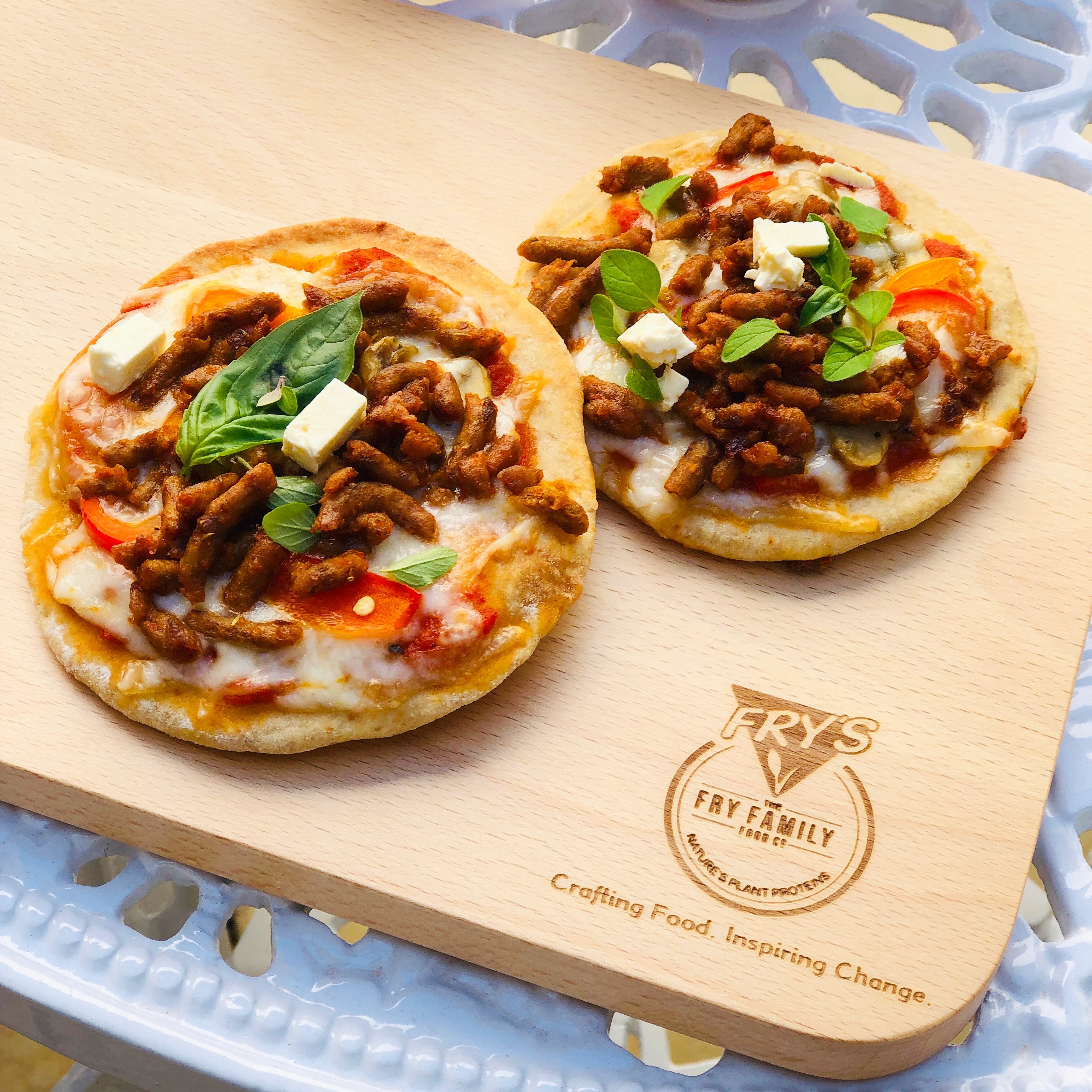 You are currently viewing Meat free Monday – Mini Pizzas