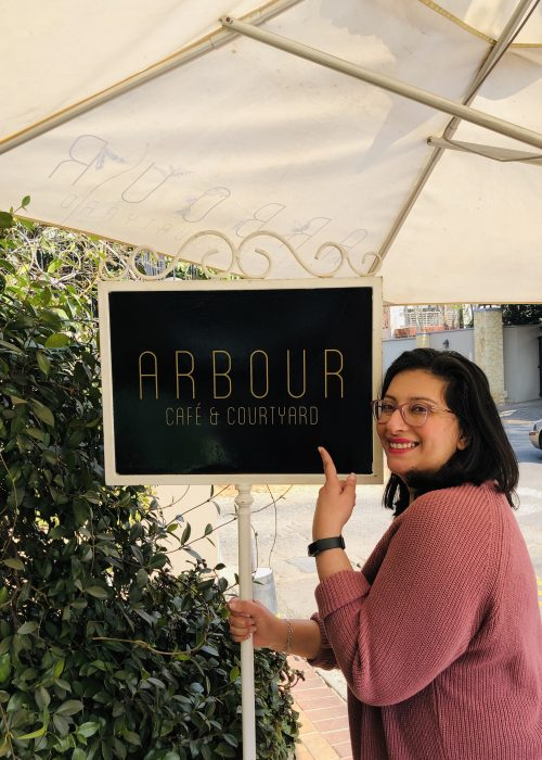 Vegetarian – what to order at Arbour Cafe & Courtyard